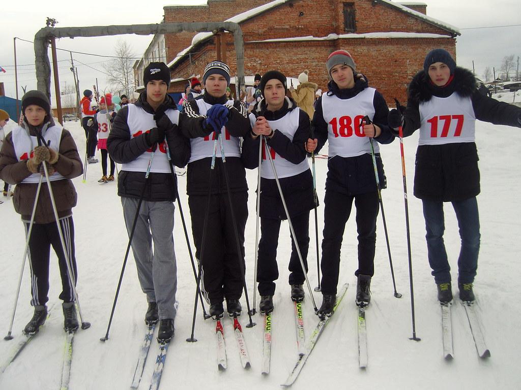 Первенство города  по лыжным гонкам, посвящённое лыжникам - фронтовикам.