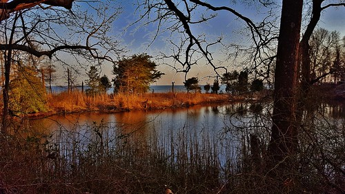 beverlytritonbeachpark beverlybeach beverlytriton chesapeakebay annearundelcounty dusk twilight maryland mayo