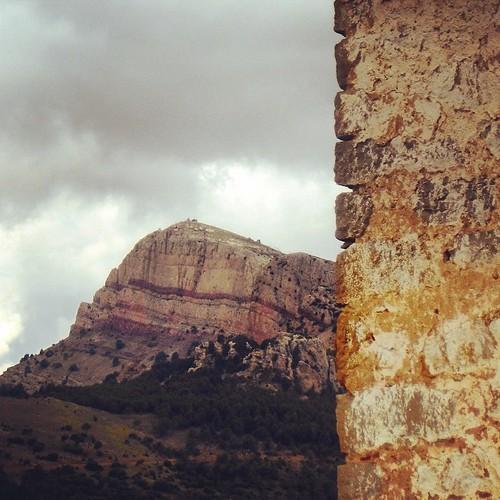 La Penyagolosa desde el Mas de Montoliu