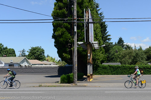 People on Bikes - East Portland-1
