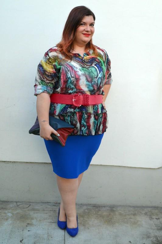 Outfit rosso e blu (4)