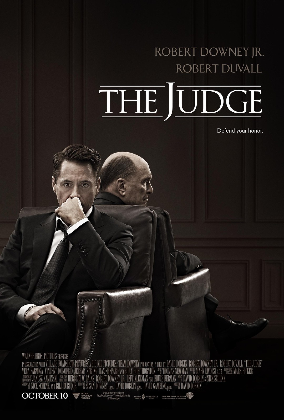 The Judge con Robert Downey Jr.