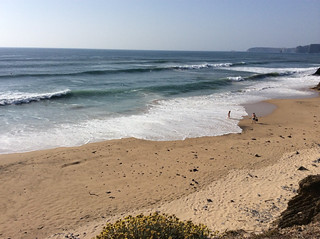 Praia Vale de Figueiras képe. ocean swell