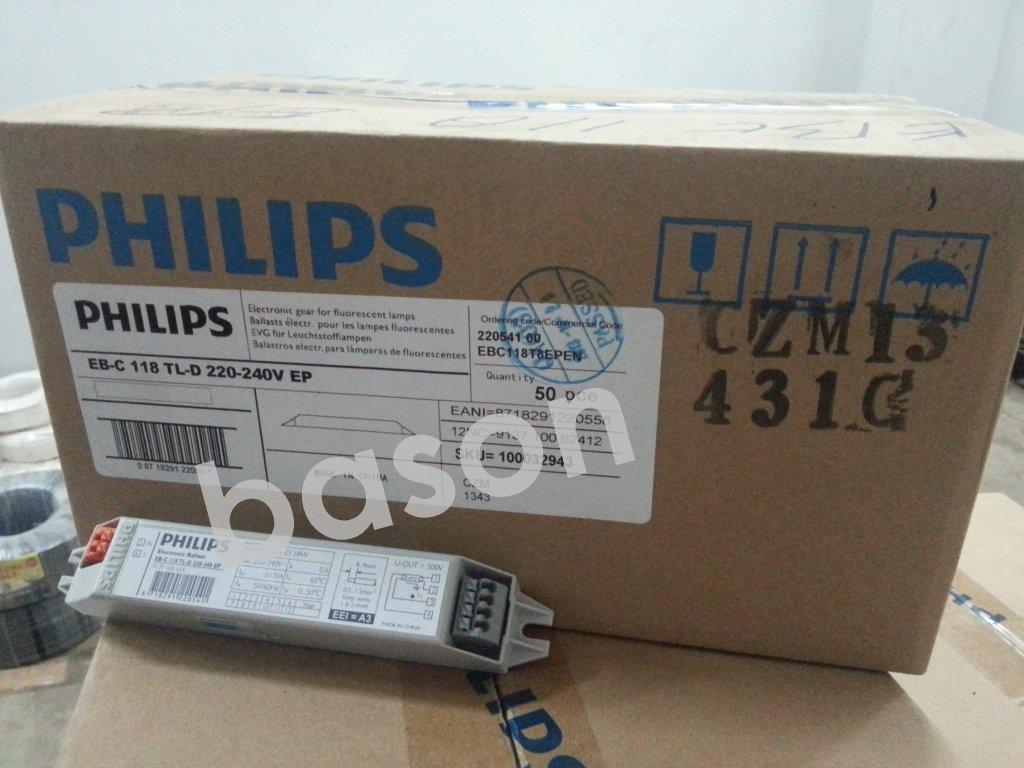 Ballast PHILIPS | EB-C | BTA | BSN | BHL | BTI | DLL