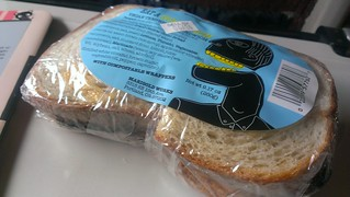 Tempeh Sandwich to eat on the train from Portland to Seattle