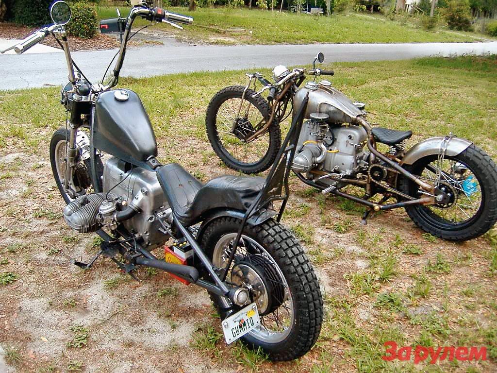 Мотоцикл своими руками из урала 14
