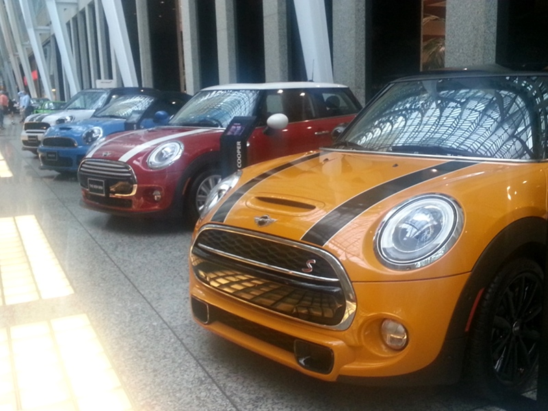Mini Coopers Brookfield Place