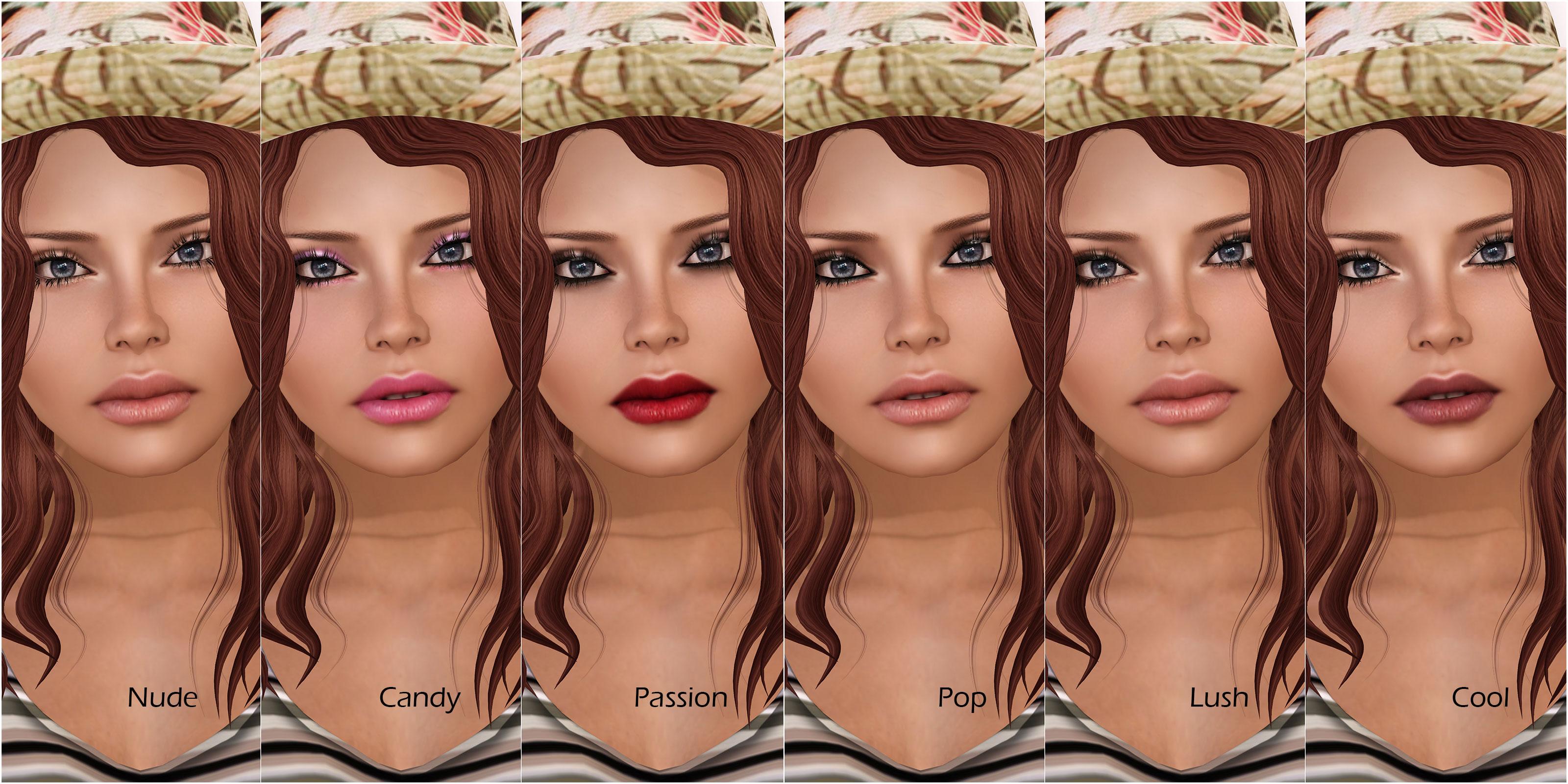 YS&YS Sabrina makeups