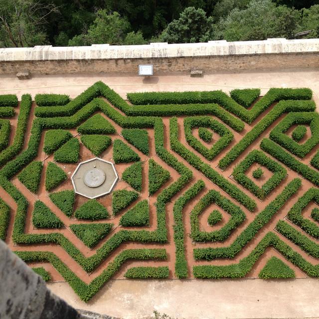 塞哥维亚阿尔卡萨堡花园
