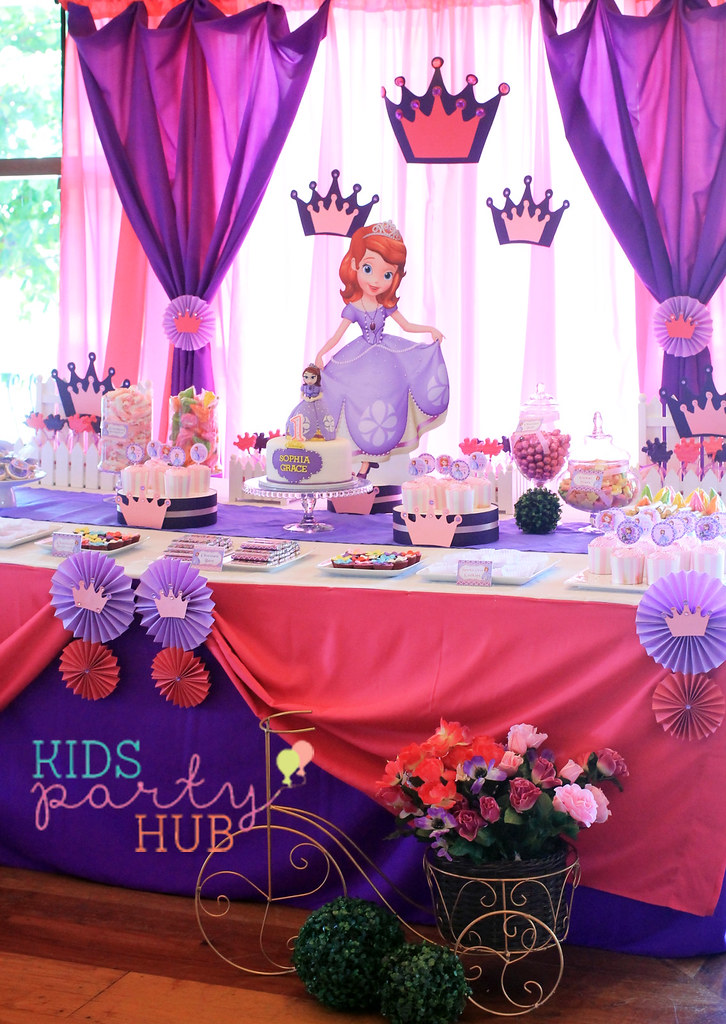 Sofia the First Birthday Party Decorations