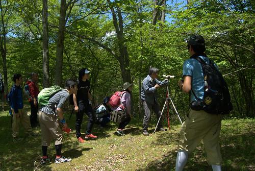 トレイルランナーのための自然教室 2日目