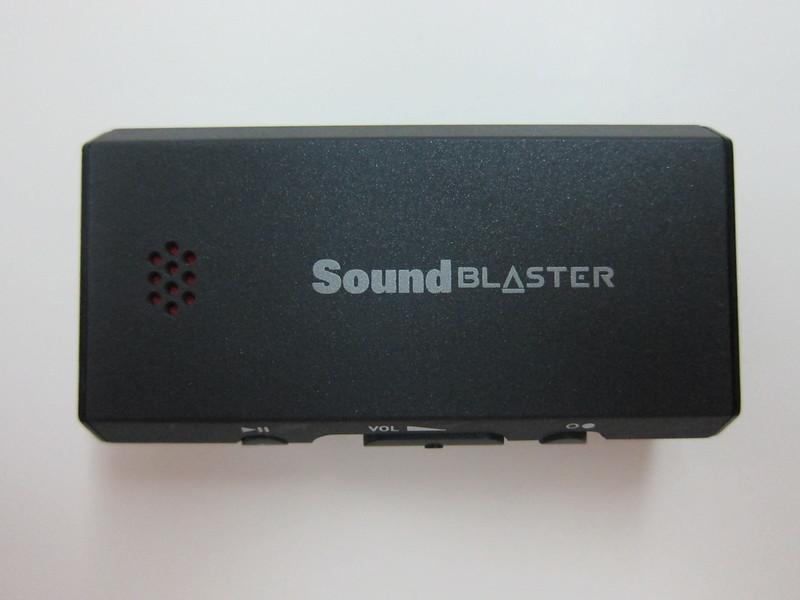 Sound Blaster E1 - Front