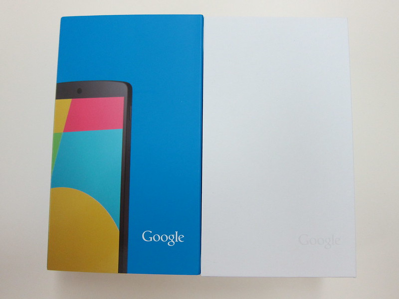 Nexus 5 - Box Open