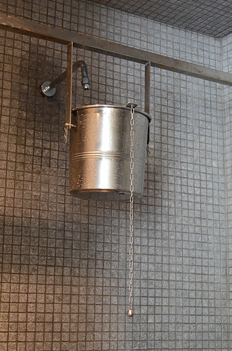 Scottish shower, Hotel Mencey, Santa Cruz, Tenerife