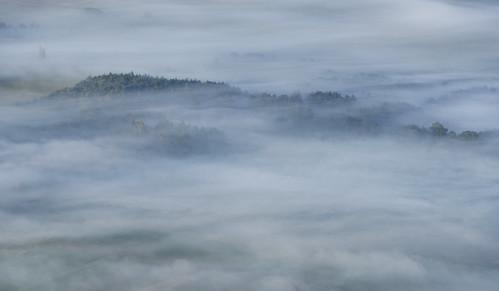 morning summer fog landscape geotagged slovenia slovenija jutro poletje cerkniškopolje