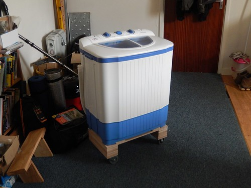 WasherDryer on Wheels Olly Writes