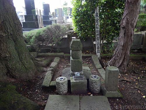 支倉常長のお墓