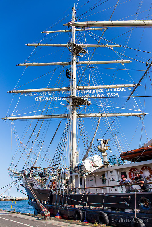 Junilee Sailing Trust ship - Tenacious