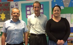 A recent visit to St Mary's Primary School, Killyclogher