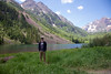 P at Maroon Bells
