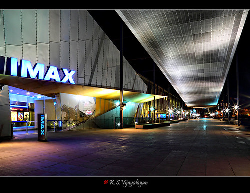 Museum and Imax theatre