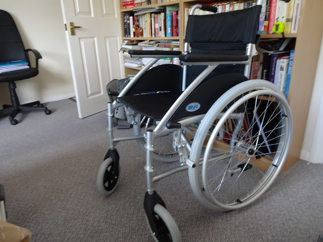 "My new ""second hand"" wheel chair"