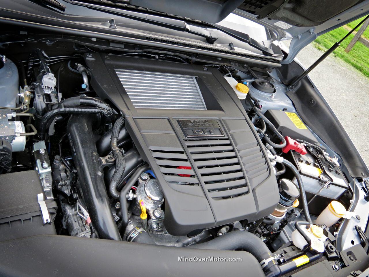 2015 Subaru WRX 2.0L Turbocharged Boxer 4 Engine
