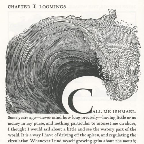 Fonts in Use continues to impress. A great piece on Moby Dick, the Arion Press edition.