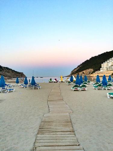 Ibiza - Sunset, Cala Llonga Ibiza.