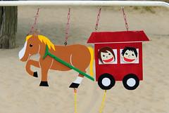 鳥取砂丘の馬車