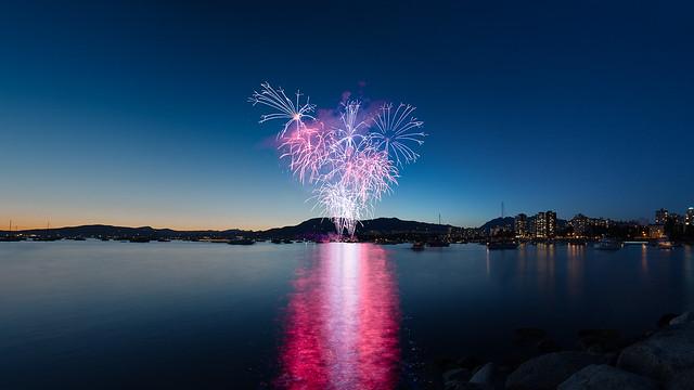 Celebration of Light Vancouver 2014, Team USA