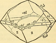 """Image from page 300 of """"Manual of mineralogy and lithology : containing the elements of the science of minerals and rocks ..."""" (1885)"""