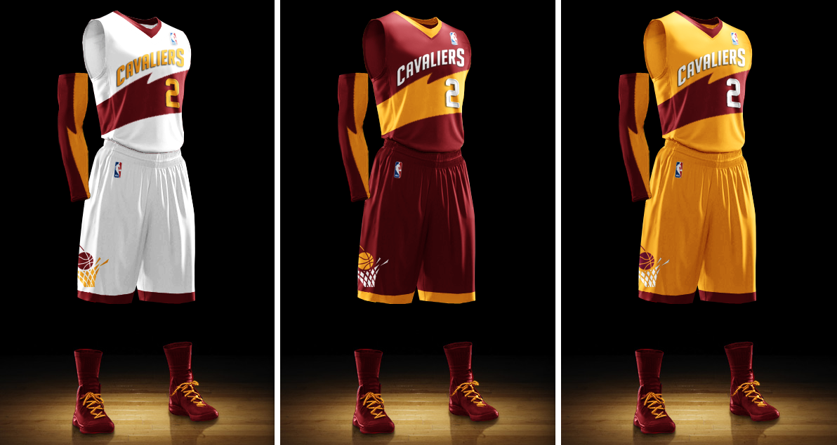 3839810e25a Uni Watch  Cleveland Cavaliers redesign results