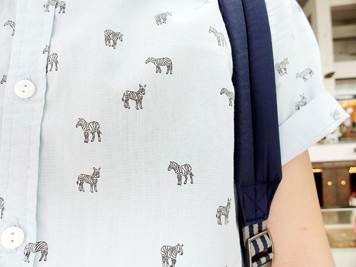 typicalben zebra print top