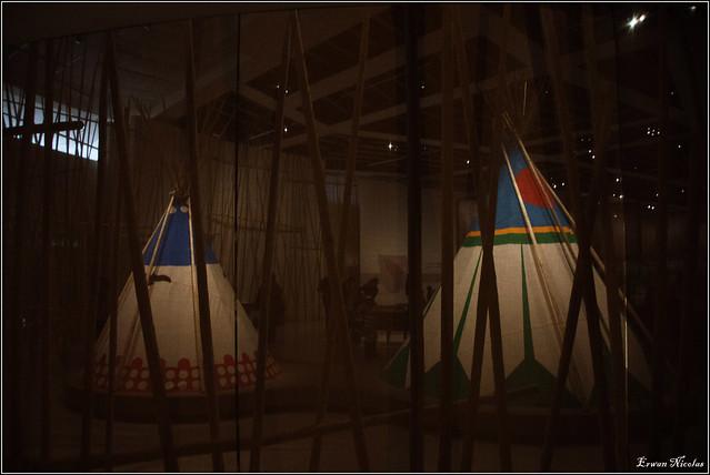 Musée du Quai Branly, Exposition sur les Indiens d'Amérique
