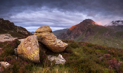 A splash of light - Tryfan