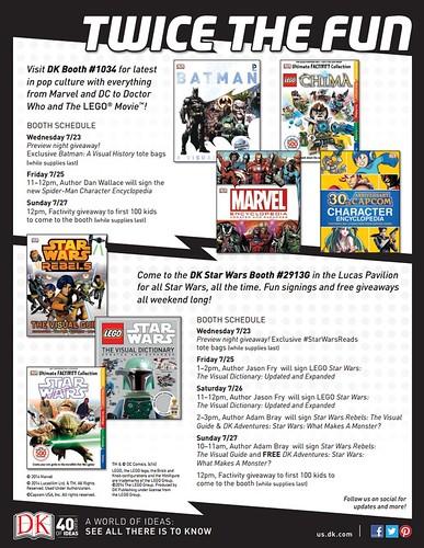 DK San Diego Comic Con 2014