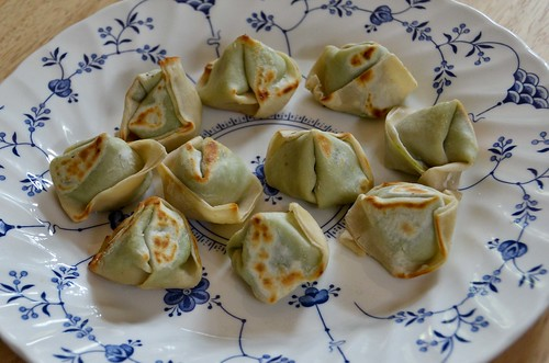 BYOV: bring your own vegetables: Success: Plump Pea Dumplings