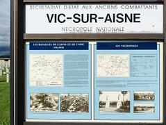 Vic-Sur-Aisne French Cemetery 2014_06_29 200 Bike Tour - Photo of Autrêches