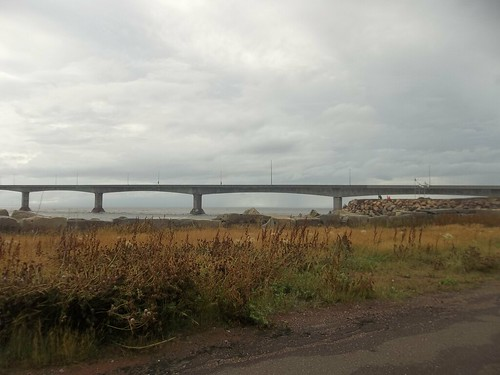 Looking at the Confederation Bridge (2)