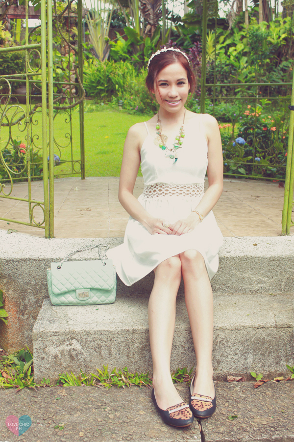 shai lagarde shailagarde love chic lovechic fashion blog blogger philippines asian street style white dress leopard print flats summer casual floral headband forever21 chic garden lookbook chictopia tumblr outfit 5