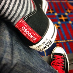 Custom #oscon speaker sneakers FTW! :-)