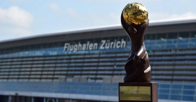 Letiště v Curychu vyhrálo po 11. v řadě titul nejlepšího letiště Evropy.