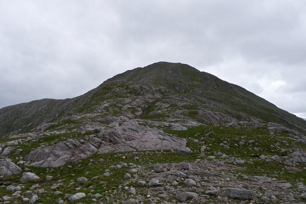 Beinn nan Aighenan from the north