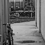 Railwayman's bicycle