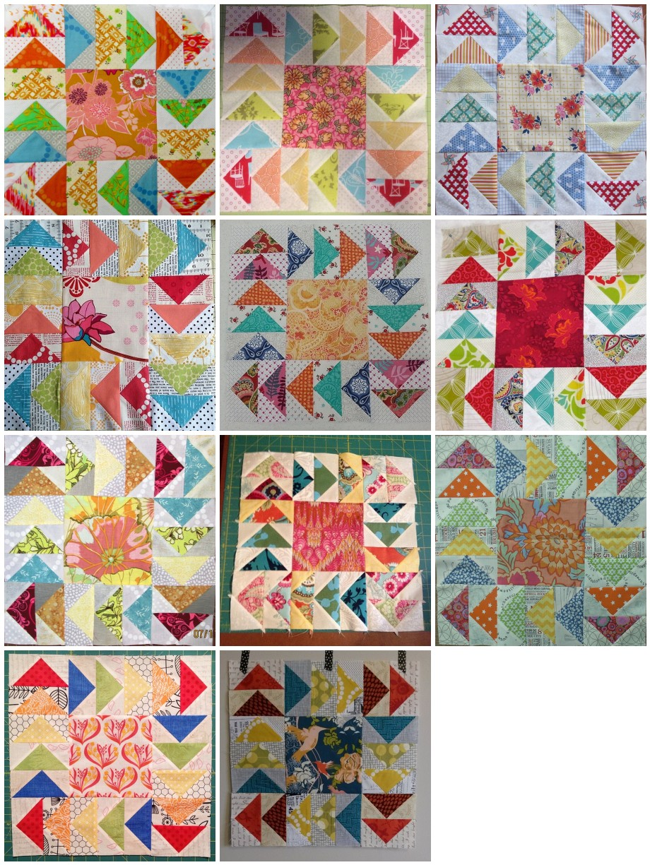 Stash Bee Hive 12 July Blocks