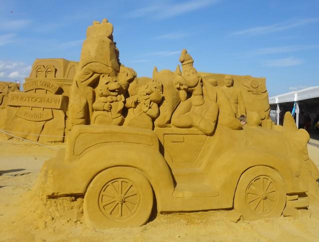 Sculpures sur sable Disney - News Touquet p.1 ! 14770344367_0405c56f03_z