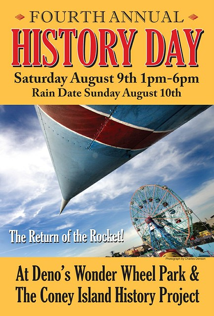 August 9: History Day Blast-off at the Wonder Wheel and the