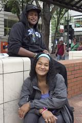 Random strangers (2/3) - Leslie and her son Maurice