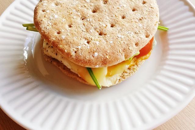 sandwich no. 42: egg white, avocado, & spinach power sandwich